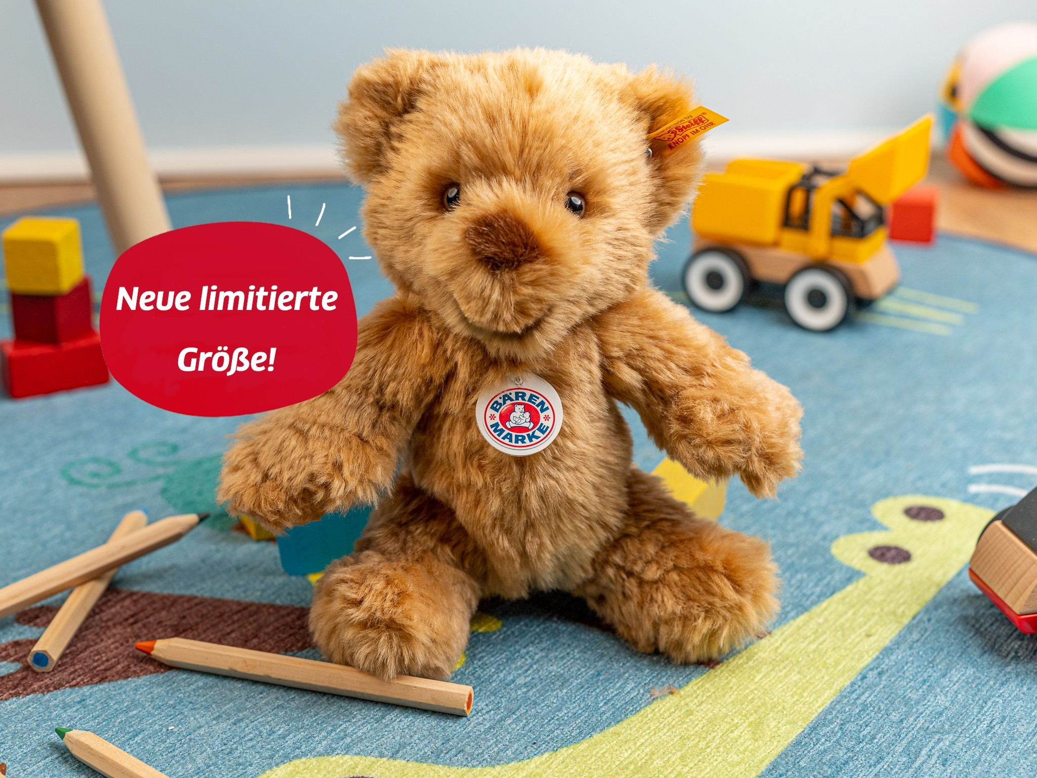 Bär 23 cm Steiff Der original Bärenmarke-Bär von Steiff